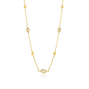 Ania Haie N014-04G necklace Female Gold 2.3 g