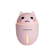 Linuo GO-WTY1-P humidifier Steam 0.32 L 2 W Pink