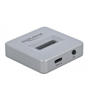 DeLOCK 64000 storage drive docking station Silver