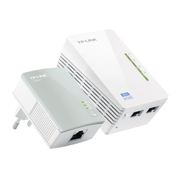 TP-LINK TL-WPA4220 KIT PowerLine network adapter 300 Mbit/s Ethernet LAN Wi-Fi White 1 pc(s)