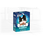 Felix 12397219 cats dry food 1 kg Adult Fish, Salmon, Vegetable