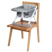 Safety 1st Take Eat Booster high chair Padded seat Grey