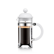 Bodum Caffettiera French Press 0.35 L Stainless steel, White