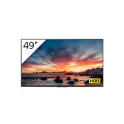"Sony FWD-49X80H/T signage display Digital signage flat panel 123.2 cm (48.5"") LED, IPS 4K Ultra HD Black Built-in processor Android 9.0"