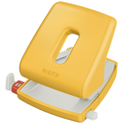 Leitz 50040019 hole punch 30 sheets Yellow