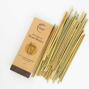 Huski Home GS50 disposable drinking straws 50 pc(s) Wood