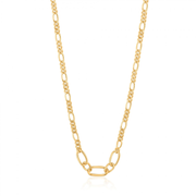 Ania Haie N021-03G necklace Female Gold 5 g