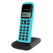 Alcatel D285 DECT telephone Caller ID Turquoise