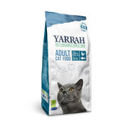 Yarrah Organic Adult dry cat food with fish