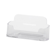 Magnetoplan 43160 business card holder Polystyrene Transparent