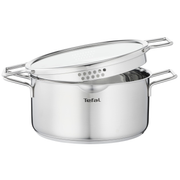 Tefal Nordica H8524635 saucepan 5 L Round Stainless steel