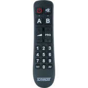 Schwaiger UFB1100 533 remote control IR Wireless DVD/Blu-ray, TV, TV Tuner, TV set-top box Press buttons