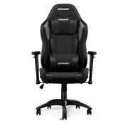 AKRacing EX PC gaming chair Upholstered padded seat Black