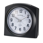 Technoline GENEVA-L Quartz alarm clock Black