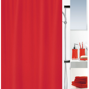Spirella 10.12535 shower curtain Ring Polyester Red
