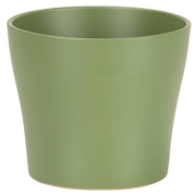 Scheurich 808 Indoor Pot planter Freestanding Ceramic Olive