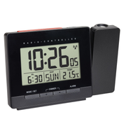 TFA-Dostmann Radio-Controlled Projection Alarm Clock with Temperature
