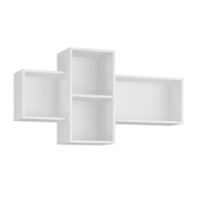 Tuckano Shelf 121x65x29 BELLA 09 white