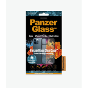 PanzerGlass Apple iPhone 12 Pro Max Black Frame Anti-Bacterial Black Frame (HoneyComb)