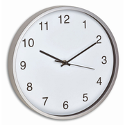 TFA-Dostmann Analogue Wall Clock green/white