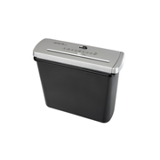 Genie 106 S paper shredder Strip shredding 72 dB 22 cm Black, Silver