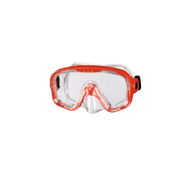 BECO-Beermann 99003-5 diving mask Polycarbonate Red, Transparent Adults