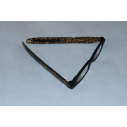 Figoline Leopardo Unisex Rectangle Full rim Black