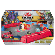 Bakugan Battle League Coliseum, Deluxe Game Board with Exclusive Fused Howlkor x Serpenteze , for Ages 6 and up
