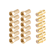 shiverpeaks BS15-300014 coaxial connector F-type 18 pc(s)