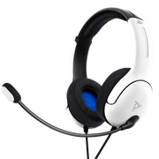 PDP LVL40 Headset Head-band 3.5 mm connector White