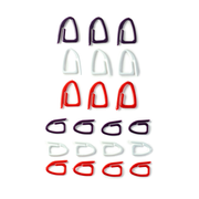 Prym 611868 stitch markers/counters Black, Red, White Plastic 21 pc(s)
