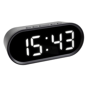 TFA-Dostmann Digital Alarm Clock with LED Digits