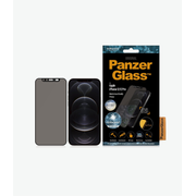 PanzerGlass Apple iPhone 12/12 Pro Edge-to-Edge Privacy Camslider Anti-Bacterial