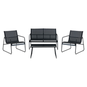 Jysk Garden set YDBY 4-seats black