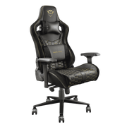 Trust GXT 712 Resto Pro Universal gaming chair Black, Yellow