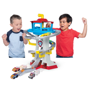 PAW Patrol , True Metal Adventure Bay Rescue Way Playset with 2 Exclusive Vehicles, 1:55 Scale