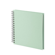 Rössler Soho photo album Mint colour 60 sheets