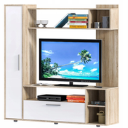 Tuckano Wall-unit 146x150x35 PULSE sonoma/white