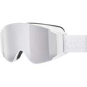 Uvex g.gl 3000 TO winter sport goggles White Unisex Mirror, Silver Cylindrical(flat) lens