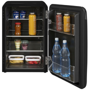 Exquisit RKB 60-14 A++sw fridge Freestanding 70 L Black