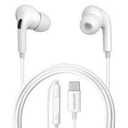 4smarts Active In-Ear Stereo Headset USB Type-C Melody Digital Basic White
