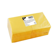 Papstar 82896 paper napkins Tissue paper Yellow 250 pc(s)