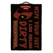 PYRAMID Deadpool Decorative doormat Rectangular Black, Red