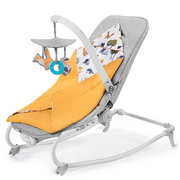 Kinderkraft FELIO 3w1 baby carry cot Grey, Yellow