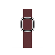Apple 40mm Garnet Modern Buckle - Large Band Purple Leather