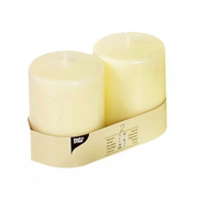 Papstar 15362 wax candle Cylinder Ivory 2 pc(s)