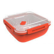 Rotho Memory Square Box 1.7 L Red 1 pc(s)