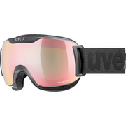 Uvex downhill 2000 S CV winter sport goggles Black Unisex Mirror, Pink Spherical lens