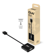 CLUB3D CAC-1302 video cable adapter 0.5 m HDMI Type A (Standard) VGA (D-Sub) Black