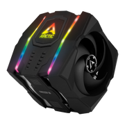 ARCTIC Freezer 50 - Multi Compatible Dual Tower CPU Cooler with A-RGB